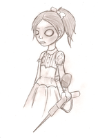 Bioshock little sister by Rdy4Zimpact