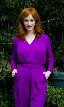 Christina Hendricks At Mad Men Press Conference In by tommyhat78