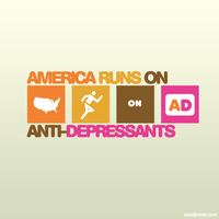 America Runs On AD by WRDBNR