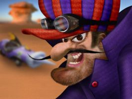 REAL Dick Vigarista-Dastardly by JohwMatos