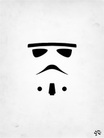Star Wars - Stormtrooper by soopernoodles