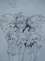 Me and My closest Fwiends by Tailmouth-Cupcake