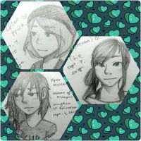Doodle Dump :: Chloe Price, Piper McLean, and Chie by MiuShimazu