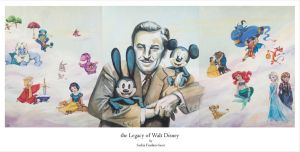 The Legacy of Walt Disney by Saskiasaers