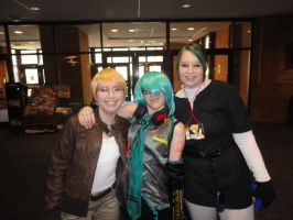 America,Mikuo and Dark Link - Tigercon 2012 by WolvesOfComedy