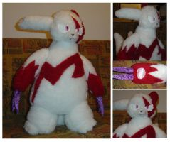 Zangoose Plush by Phoeline