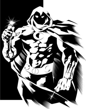 Franchesco's Moon Knight by sythspawn