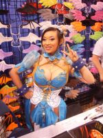 Yaya Han as Chun Li by sentinel28a