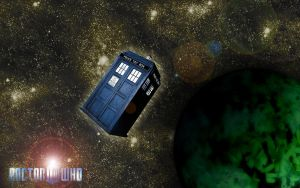 Doctor Who Wallpaper 2010 by rohtua