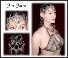 """""""Fire Faerie"""" Coiffette by ArmouredRaven"""