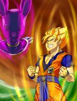 Battle of Gods Dragon Ball Z by Bewoolf