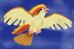 Pidgeot Art Trade by fantreasureplanetljs