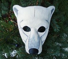 Polar Bear Mask by merimask
