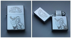 Big Lebowski - engraved lighter by Piciuu