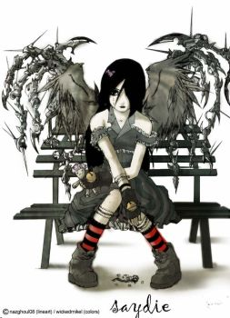 sAyDie_by_nazghoul08 colored by wickedmikel