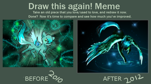 Before after meme by ZIODYNES