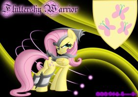 Fluttershy Warrior by MLR19