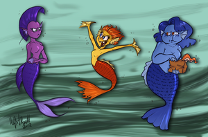 Mermaid color chart by TopperHay