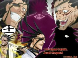 Zaraki Kenpachi Tribute by the-300-Spartans