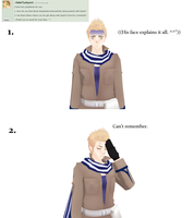 Ask-MMD-Netherlands: Question 6 and 7 by Ask-MMD-Netherlands