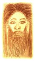 Portrait of Jesus Christ (2) by SlyMFoxx