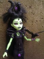 Monster High Maleficent by AdeCiroDesigns