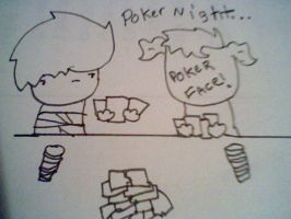Peter's Poker Face by Burnzy69