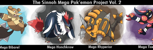 Sinnoh Mega Pokemon Vol.2