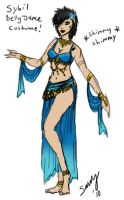 Sybil Belly Dance Sketchery by Captain-Savvy