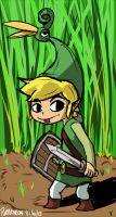 Zelda: Minish Cap by Purple-Neon