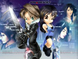 Rinoa + squall by blade-377