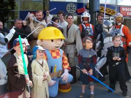 Rebels and Bob the builder in LEGOland by locomotiva