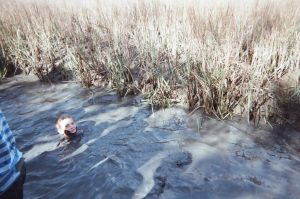 Swimming in the mud pit by CrazyCousins