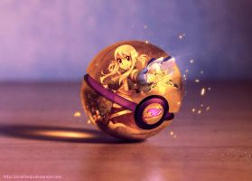The Pokeball of Lucy Heartfilia by Jonathanjo