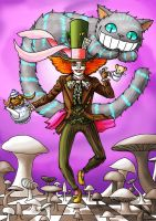 Mad as a Hatter by SpaceBoy969