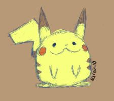 Pikachu - Squishy by Sewah