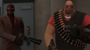 Team Fortress and Augs, they drive me to pose. by RAGEPANDDEMOMAN