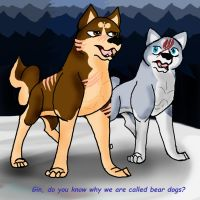 Ginga - Why We Are Called Bear Dogs by RedSlashwolf
