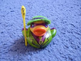 Riddler duck by ShayeraLee