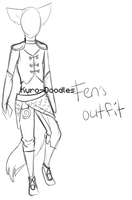 Fen's Outfit by Kuro-Doodles