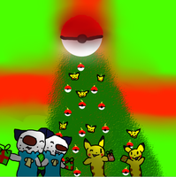 Pokemon Christmas by Oshawatt10024