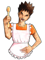 Brock: Master Chef by surrealtoons