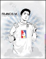 FRANCIS MAGALONA by supermanisback