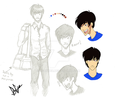 Atom (Character sketches) by JGunner
