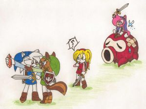 4 Sword Fun by roga14