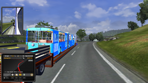 new mod trailer. a bus on a flatbed. by daz1200