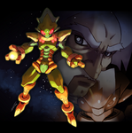 Eirian - Megaman 2 Final Boss by Tomycase