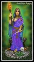 Diosa Hecate by krissr87