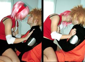 narusaku: I love u, baka by FairyScarlet