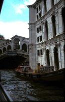 Rialto bridge Venice by marob0501